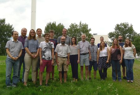 "Photograph of the research group ""Remote Sensing of Polar Regions"""